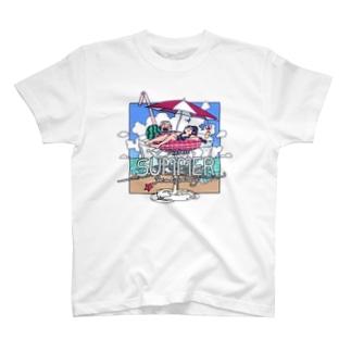 ダラダラ夏休み T-shirts