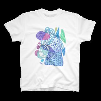 ちぺやまのとぽぽこぽこぽ T-shirts