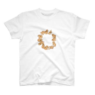うサークル(たれみみ) T-shirts