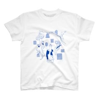 エイリアン・おばけ・むしば T-shirts