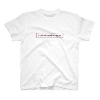 ミニマランスロゴT T-shirts