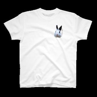 パンダうさぎのコロンボウイバージョン T-shirts