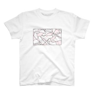 カモフラージュ(ぱんつ) T-shirts