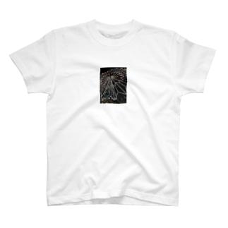 カラフルデザイン T-shirts