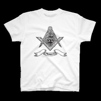 ET・MONKEY🐵のメイソンET T-shirts