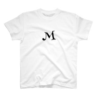 イニシャル M T-shirts