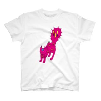 びっくりねこ(='x'=) T-shirts