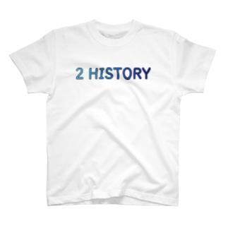 2 HISTORY T-shirts
