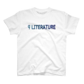 9 LITERATURE T-shirts