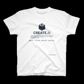 沖 良矢のCreateJS Tシャツ