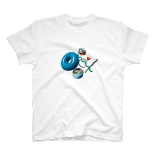 数学の表紙にありそうな図形 T-shirts