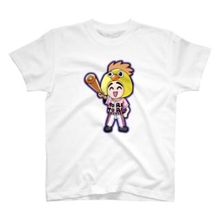 予告ホームラン トリトリ T-shirts