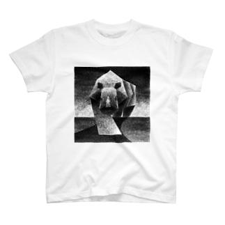 Monochrome rhino T-shirts