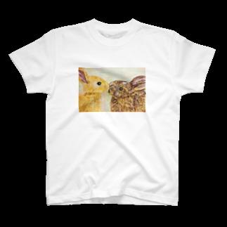 くろがおのうさぎ🐰 T-shirts