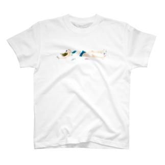 真夜中の手がみのdrunk girl シャツ T-shirts