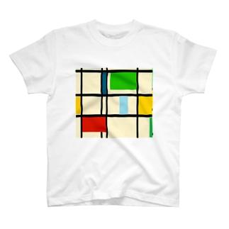 suzu2aのcube T-shirts