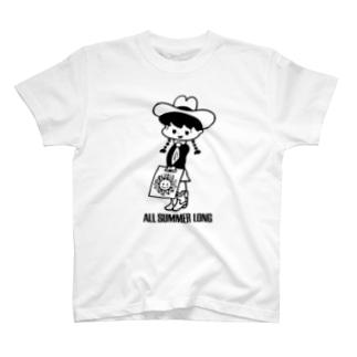 All Summer Long(レコガール) T-shirts