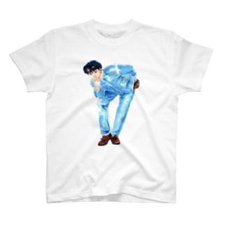 mikiyu405のじょにーくん T-shirts