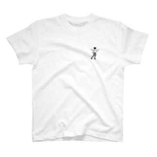 飛び跳ねる人 T-shirts