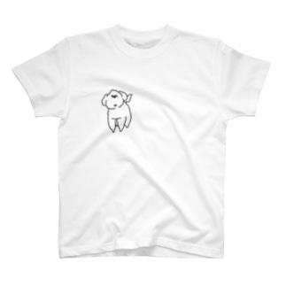 プードルのプルちゃん T-shirts