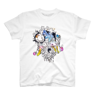 melted cat T-shirts