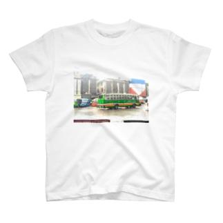 タイ・バンコクのバスターミナル T-shirts