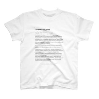 The MIT License T-shirts