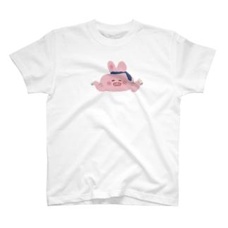 酔っ払いうさちゃん T-shirts