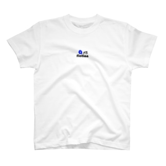 a-fiction logo blue T-shirts