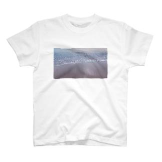 あのサーフ 鏡面 T-shirts
