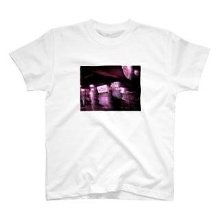 新大久保の裏道 T-shirts