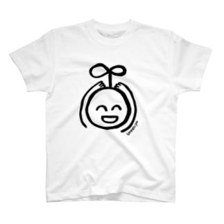 ウレシパTシャツ(くろ) T-shirts
