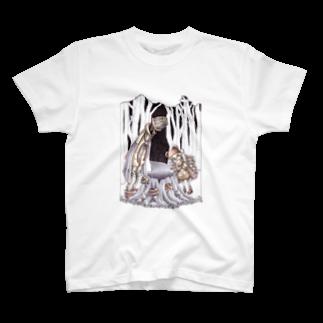 鬼気の木こりと不思議な切り株 T-shirts