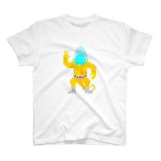ドット 宇宙服宇宙人 T-shirts