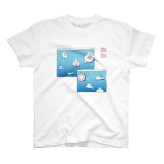 Virtual pool(仮想プール) T-shirts