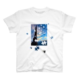 パズル T-shirts