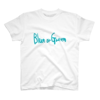 青 or 緑 T-shirts