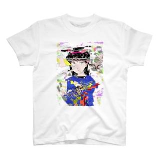 うさぎロボ祐奈03 T-shirts