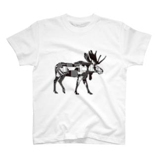 ヘラジカ T-shirts