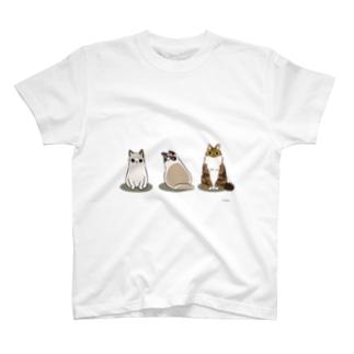 伊藤家のニャン T-shirts