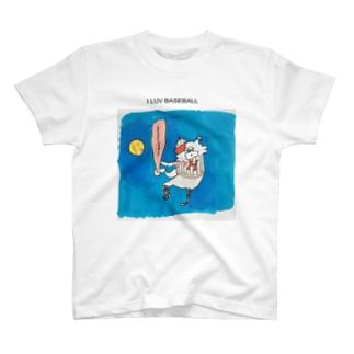 baseball Tシャツ T-shirts