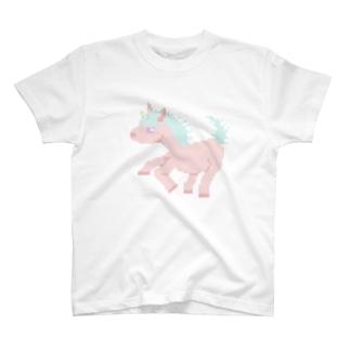 ドット ユニコーン T-shirts
