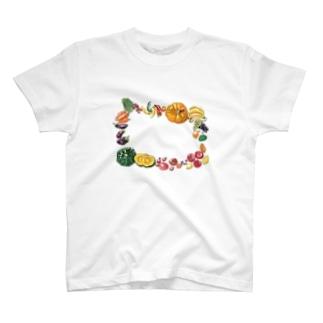 野菜柄 T-shirts