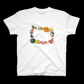 ジョニー|イラストレーターの野菜柄 T-shirts