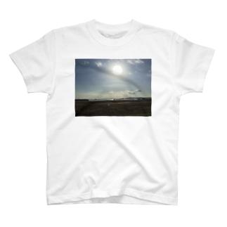ある日の夏の海2 T-shirts