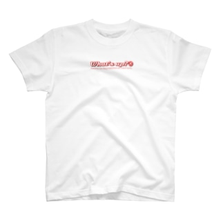 What's up ? Special Logo Tee White T-shirts