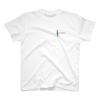 チームJK(紺+赤) T-shirts