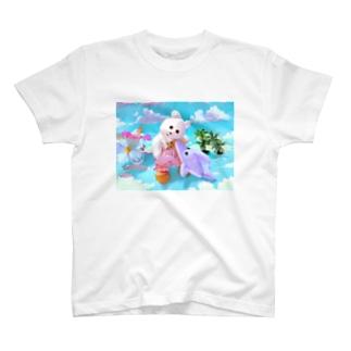 くまきちの夏休み T-shirts