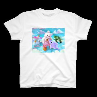 RAITYO TSUMEのくまきちの夏休み T-shirts