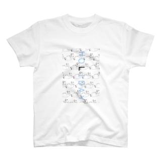 HOLIDAY ねこ T-shirts
